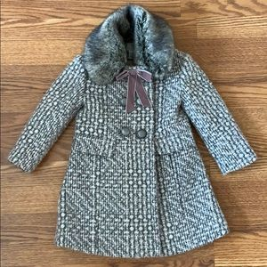 Monsoon girl coat size 3-4yrs